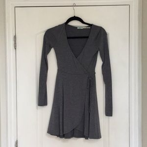 Urban outfitters wrap mini dress
